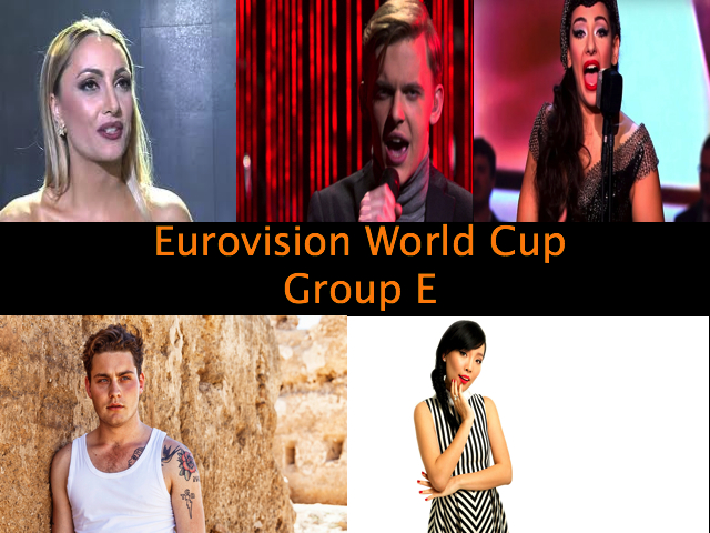 Eurovision NI 2016 World Cup Group E