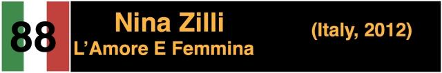 Nina Zilli L'Amore E Femmina Italy Eurovision