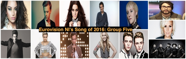 group 5 Eurovision NI Song of 2016